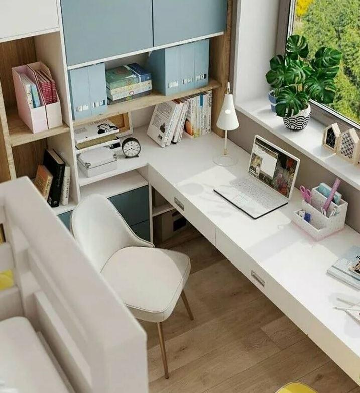 Комната школьника, современного рабочее место