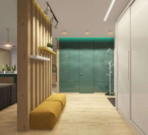 Дизайн узкого коридора. Идеи и решения