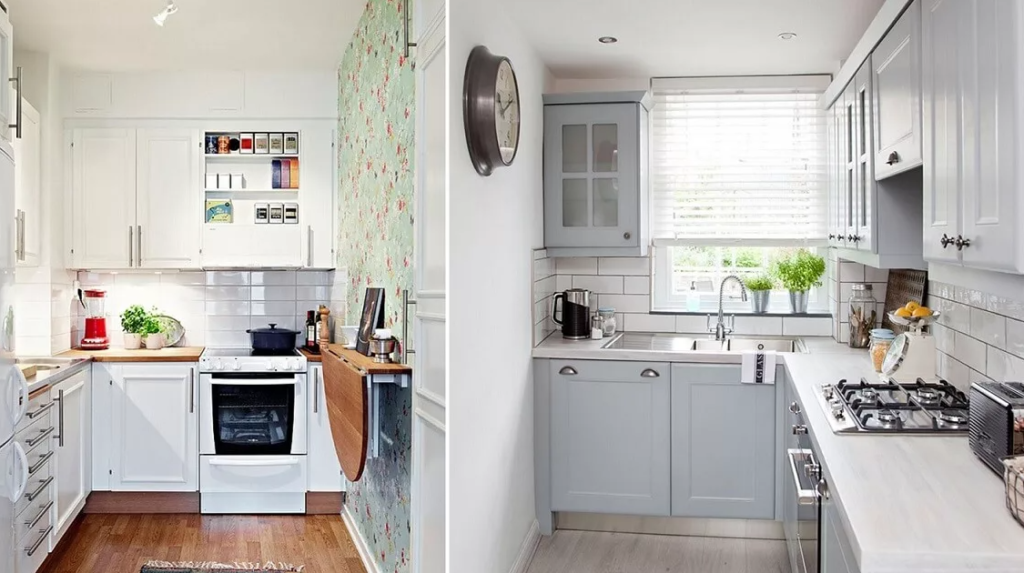 Удобное и функциональное пространство кухни