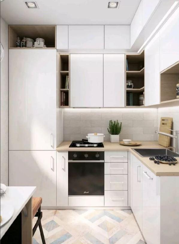 Дизайн кухни в светлых тонах как увеличить пространство