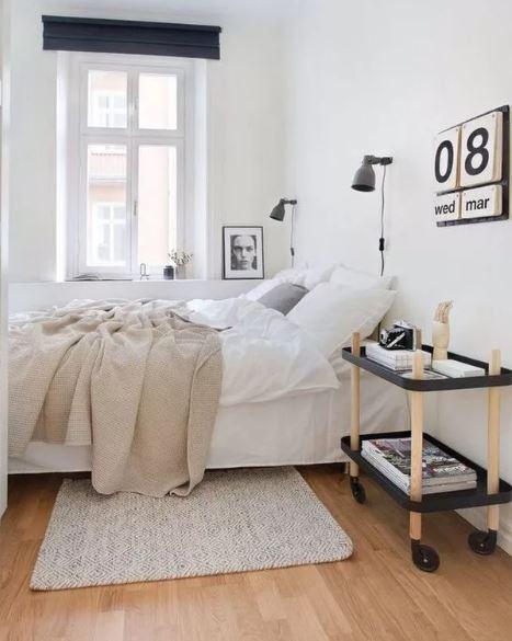 светлый дизайн-проект в современном пространстве квартиры Тёмная квартира