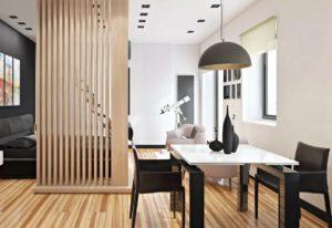 Способы зонирования квартиры с открытой планировкой.