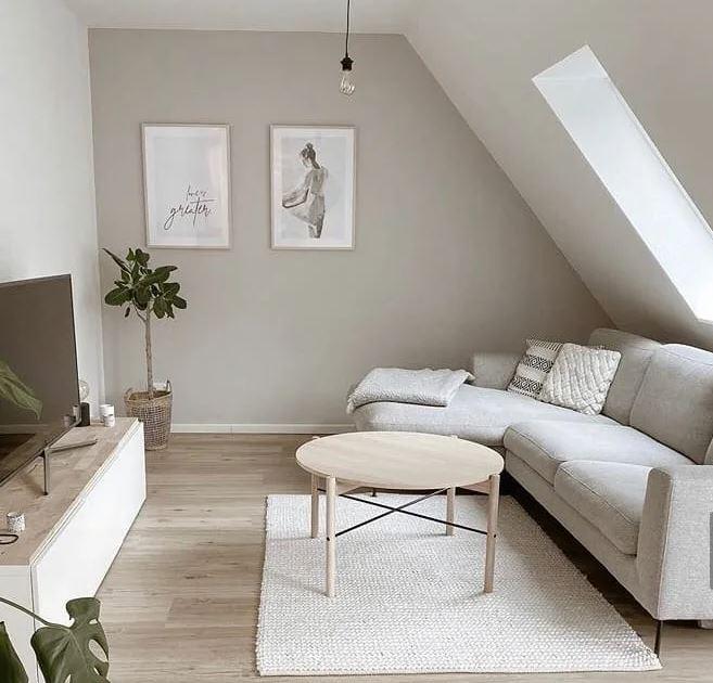 как сделать светлее современная Тёмная квартира