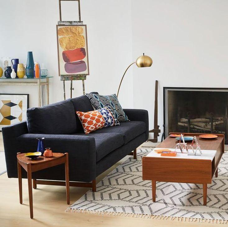 Дизайн-проект стильной гостиной.