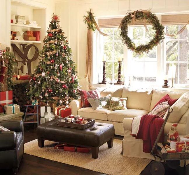 Мелочи в новогоднем интерьере, в стильных современных домах
