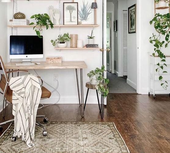 Работа в зоне комфорта: советы по организации домашнего офиса