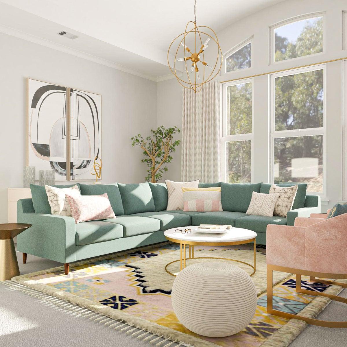 Модные цвета дизайна мебели 2021